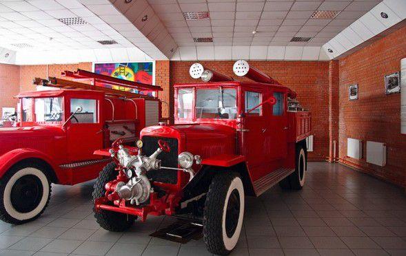 Визит в Музей истории пожарной техники