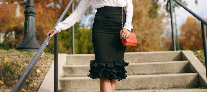 Тренд весны: юбка-годе