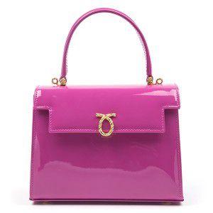 Launer_Leather__mini_kelly_handbag_judi-magenta-patent-2512_(1)