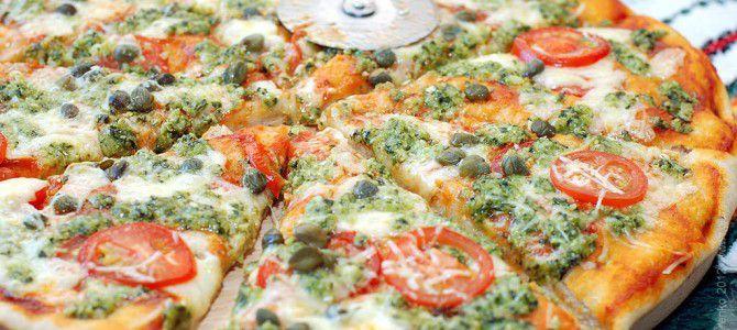 Готовим итальянскую пиццу