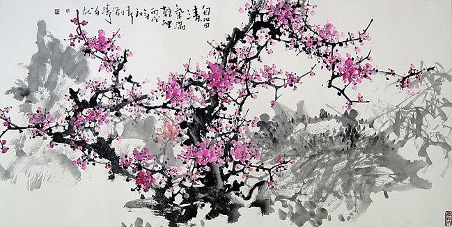 Учимся китайской акварельной живописи
