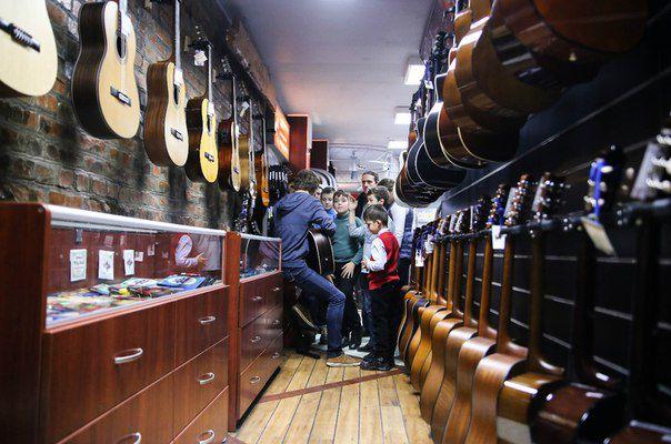 музыкальные инструменты экскурсия
