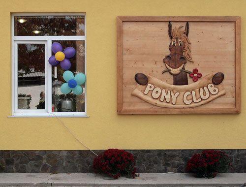 Экскурсия в пони-клуб