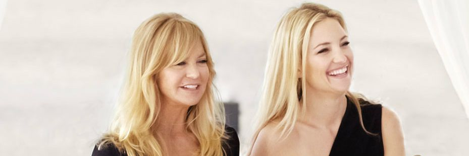 Видео: Голди Хоун и Кейт Хатсон - мама и дочь друг о друге