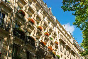 beautiful house in Paris