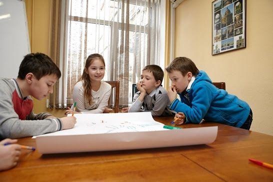 Мастер-классы для детей  от школы предпринимательства и лидерства MBA Kids