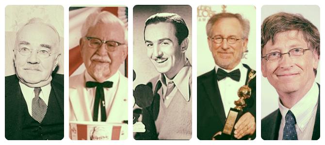 5 успешных людей, начавших карьеру с череды неудач