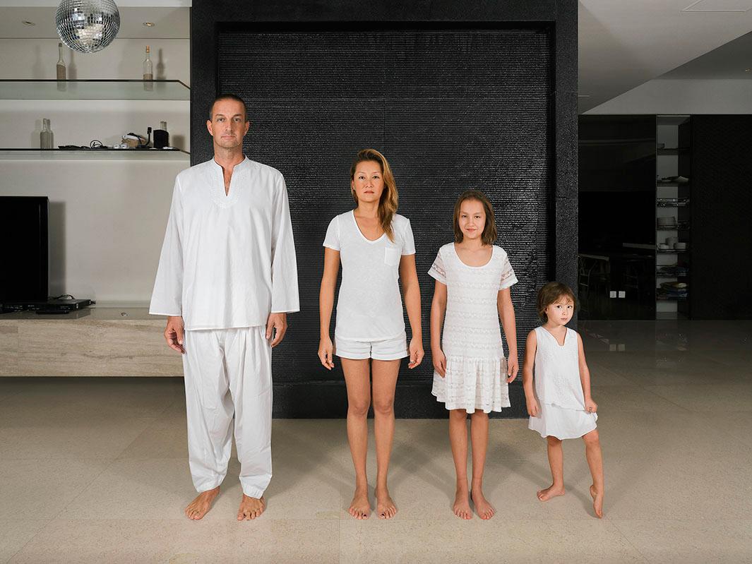 Удивительные портреты семей смешанных рас