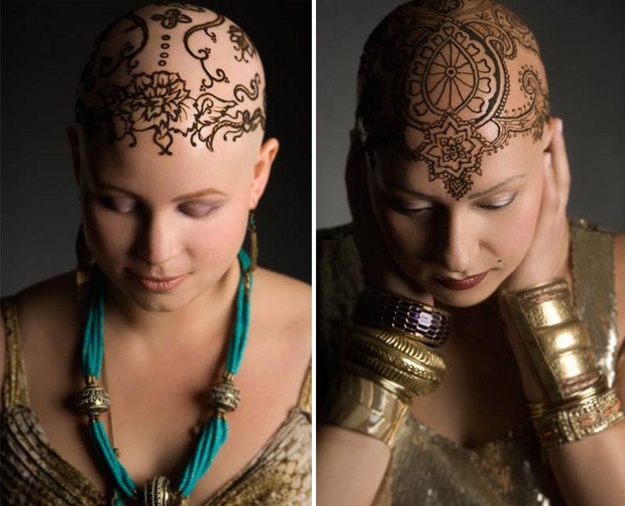 Короны-тату из хны — коронация победивших онкологию