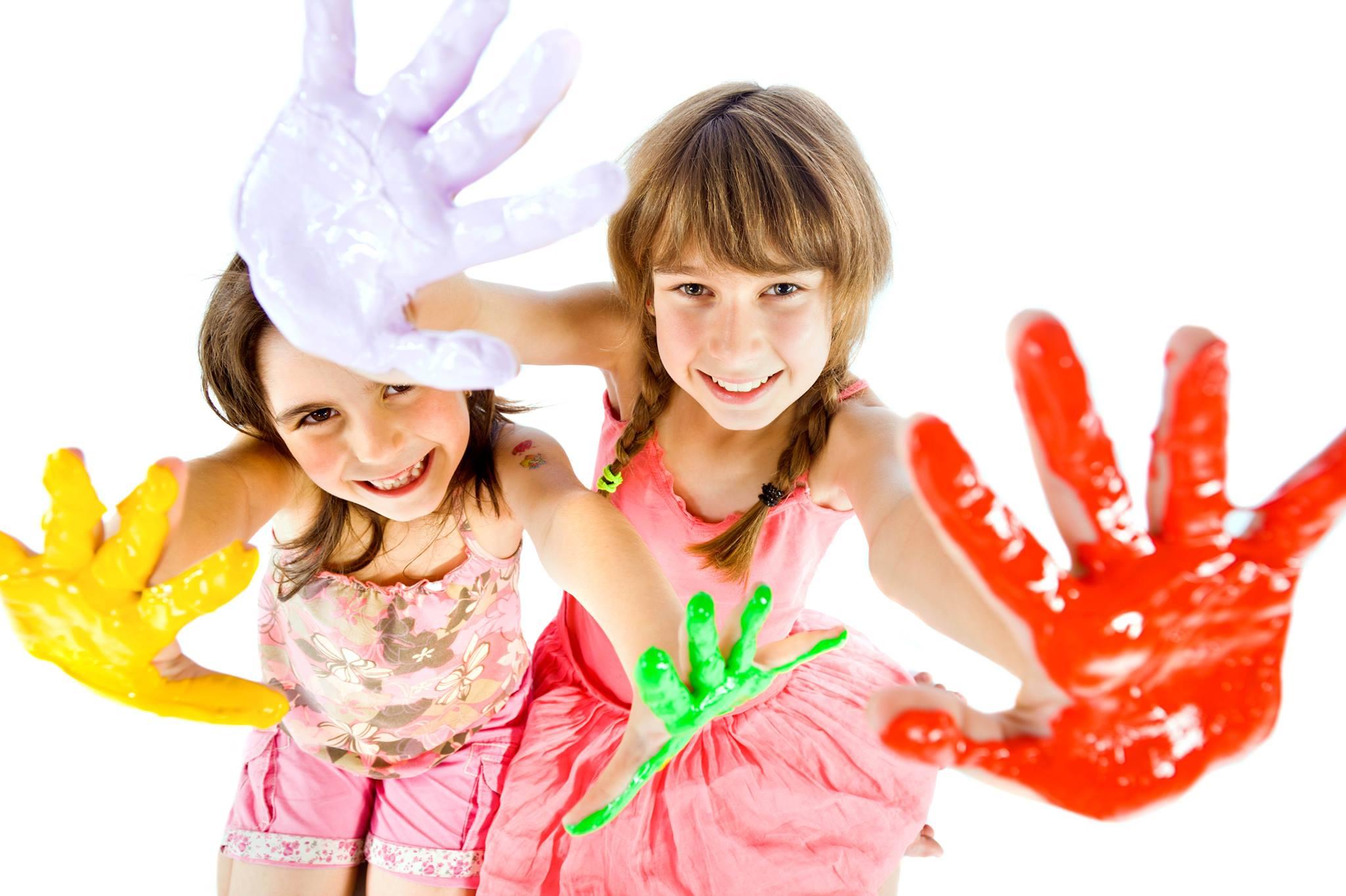 Занятие живописью для детей от 4-х лет