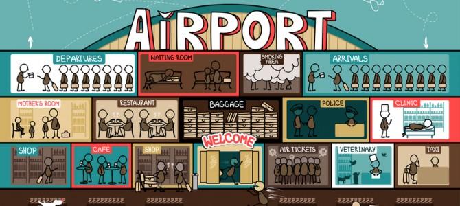 Гид по детским площадкам: аэропорты и мировые столицы