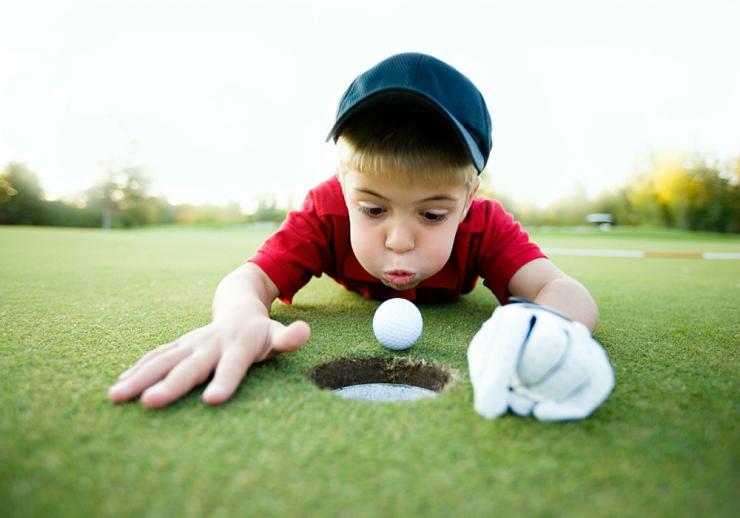 Зачем ребенку гольф