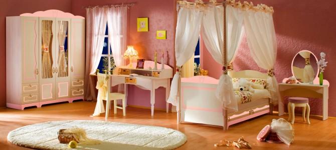 Балдахин в детской комнате - формы, варианты, решения