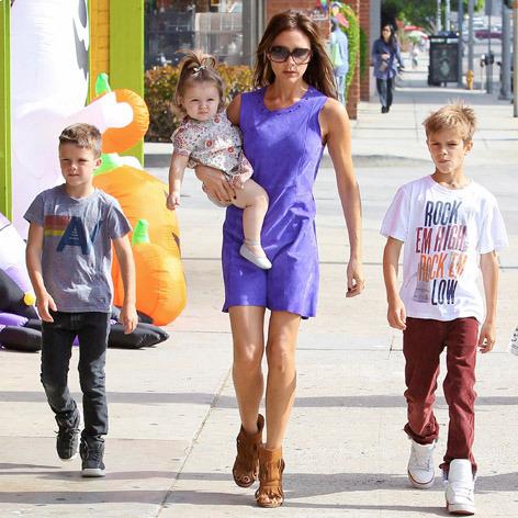 Виктория Бекхэм о семье, детях и работе