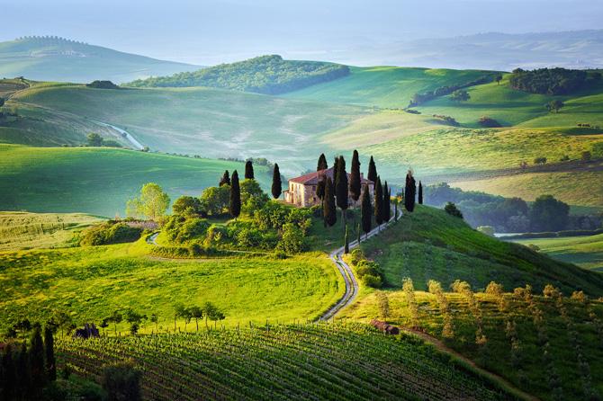 Путешествие по тосканской Маремме