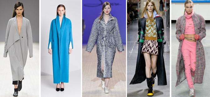 Какие пальто носить осенью 2014