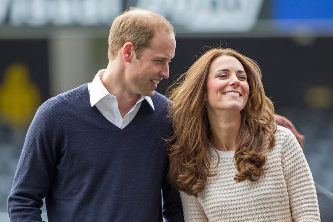 Кейт и Принц Уильям - родители-революционеры