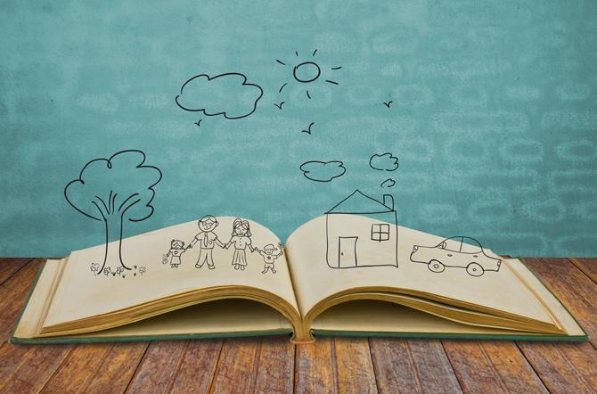 Когда ребенок рисует на полях в тетрадке
