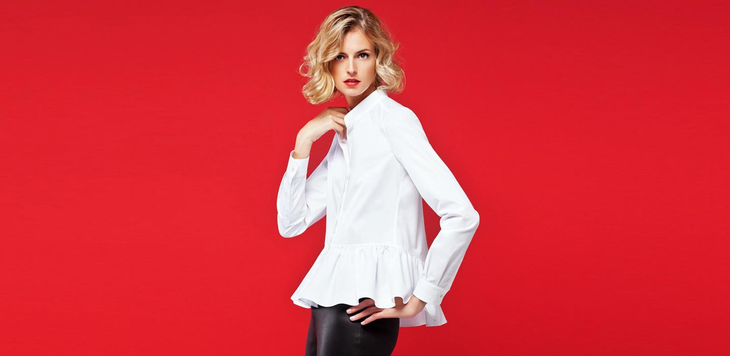 Вечный тренд: белая рубашка