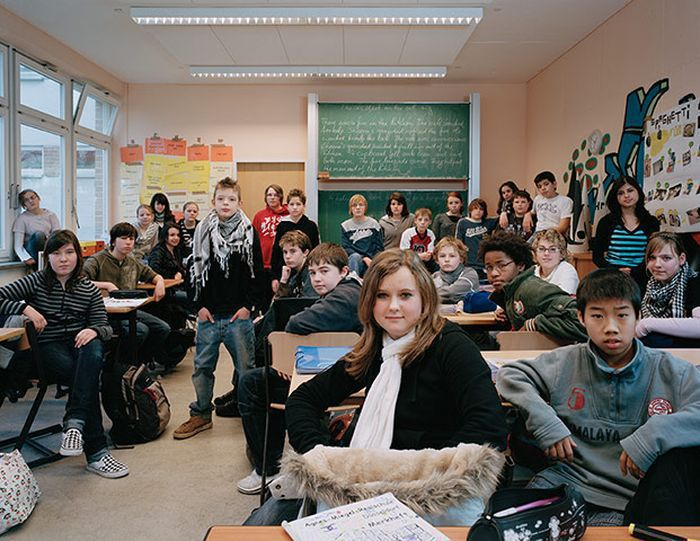 Как выглядят ученики и их классы в разных странах