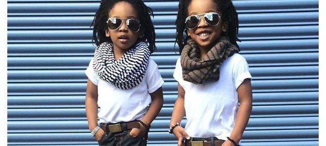 Новые звезды Instagram - стильные близнецы