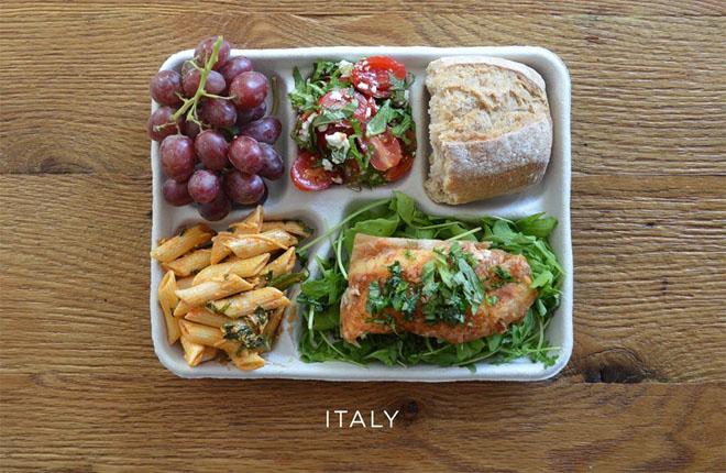 Школьное питание в разных странах