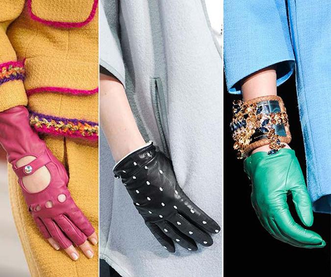 Перчаточная мода осени 2014