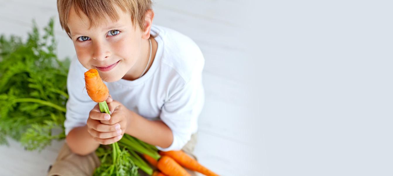 Как говорить с детьми о вегетарианстве