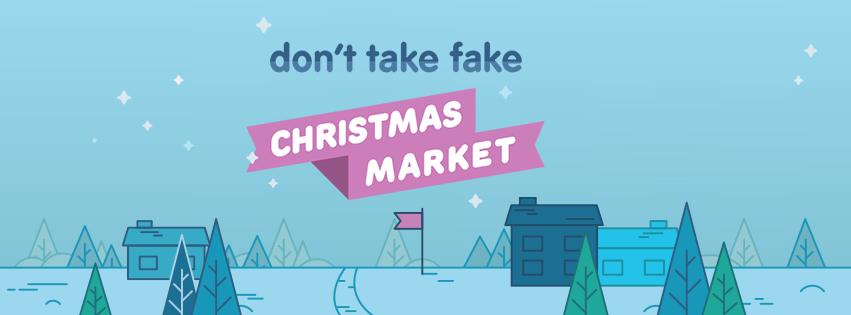 don't Take Fake Christmas Market