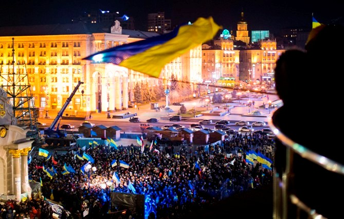 Евромайдан. Годовщина