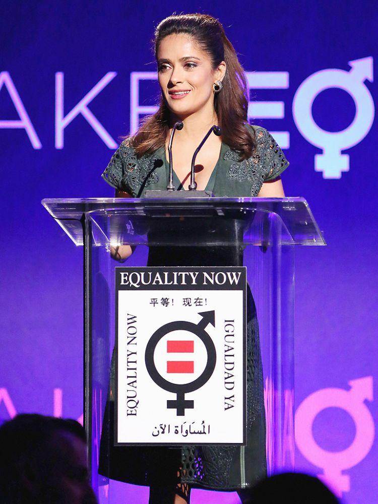 Сальма Хайек получила награду Equality Now за вклад в гендерное равенство