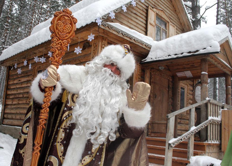 Где живут Деды Морозы