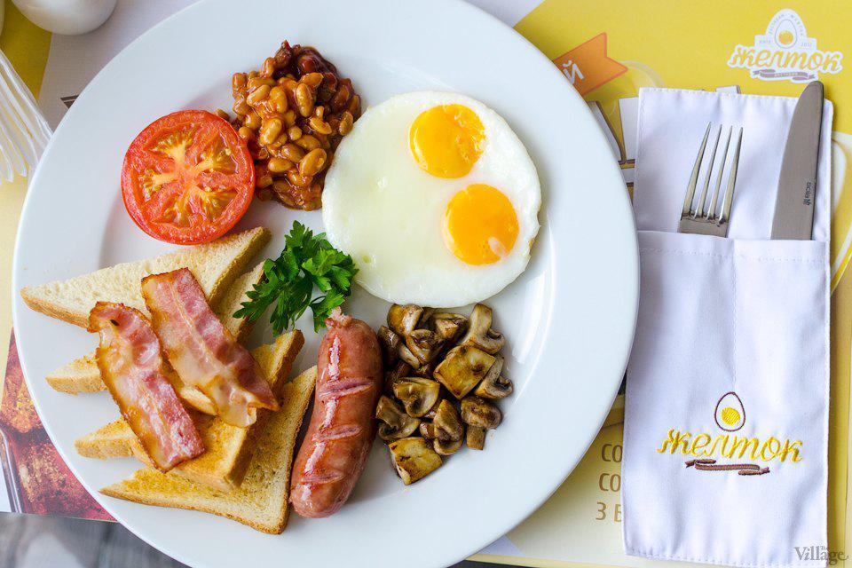 Где позавтракать в центре Киева рано утром?