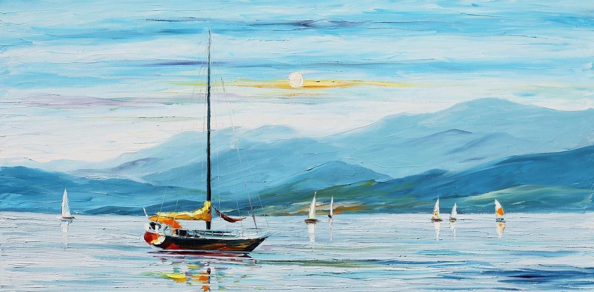 Коуч сказка: Яхта, которая нашла свое море
