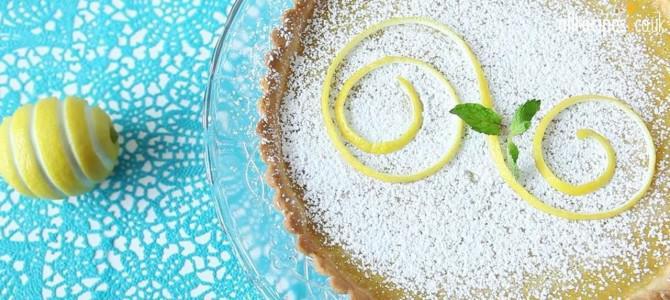 Видеорецепт: Лимонный тарт