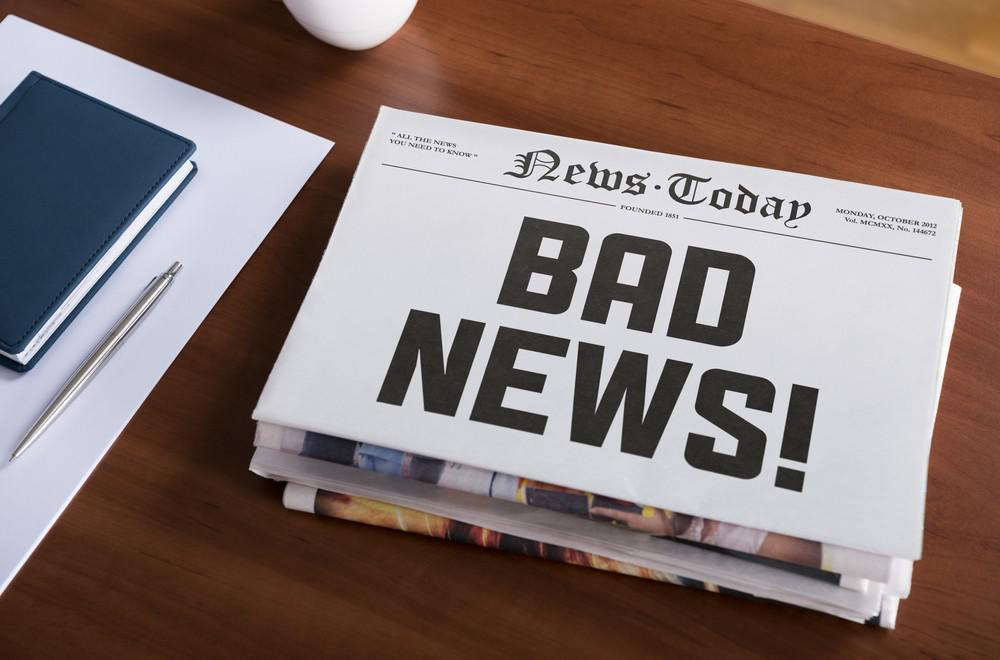 Как сообщить плохую новость