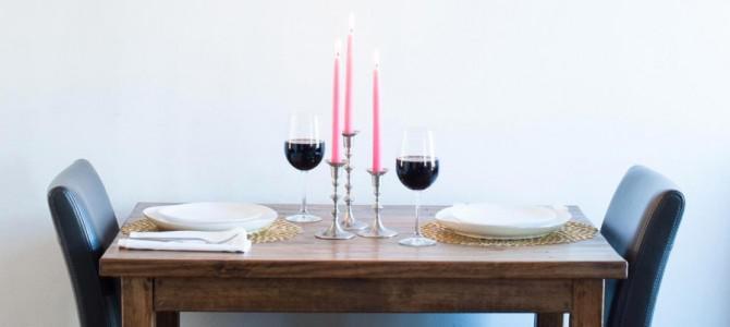 Декор для романтического ужина