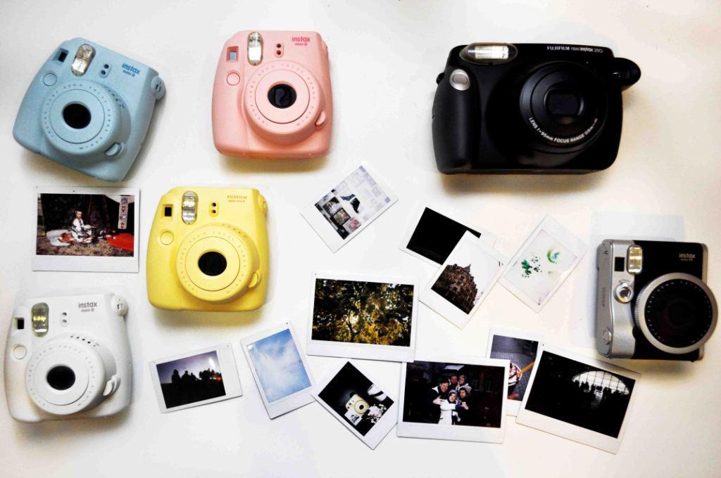 Обзор моментальных фотоаппаратов Fujifilm Instax