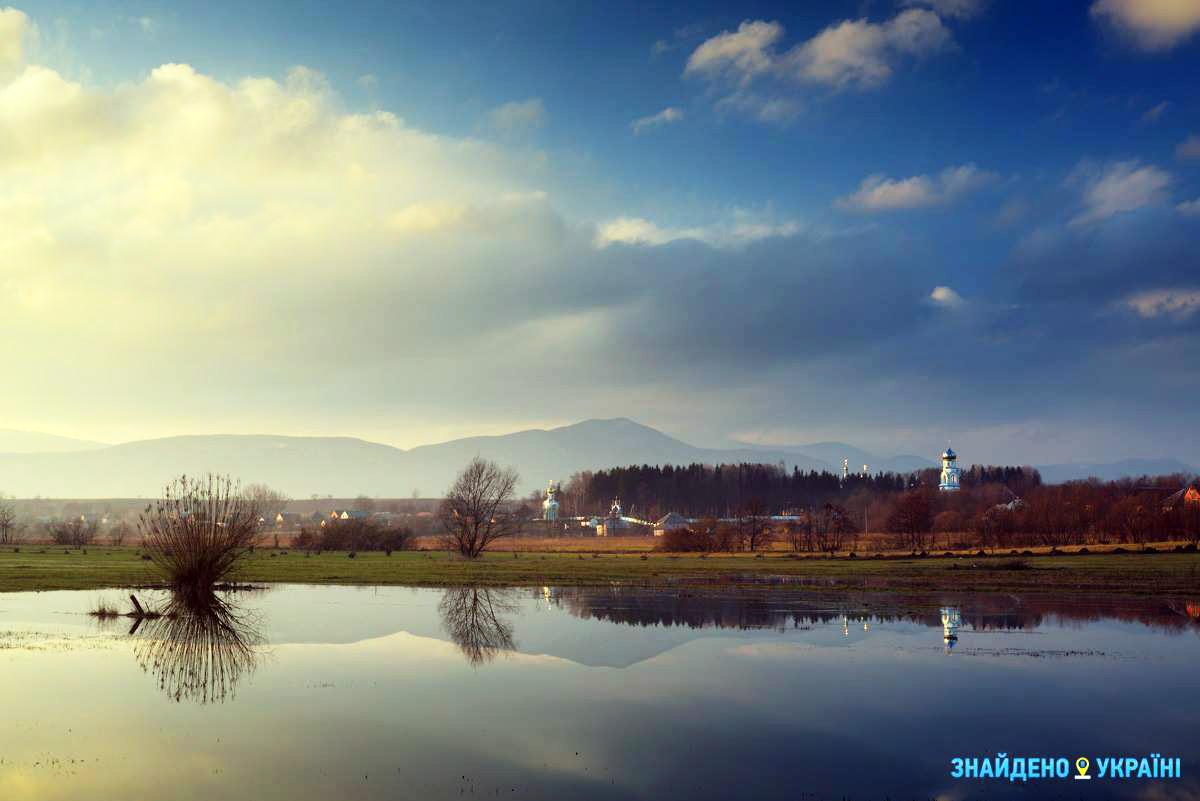Сказочное Нижнее Селище в Закарпатской области