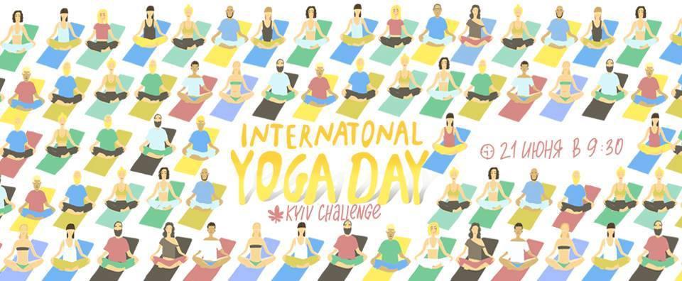 International Yoga Day - Kyiv Challenge