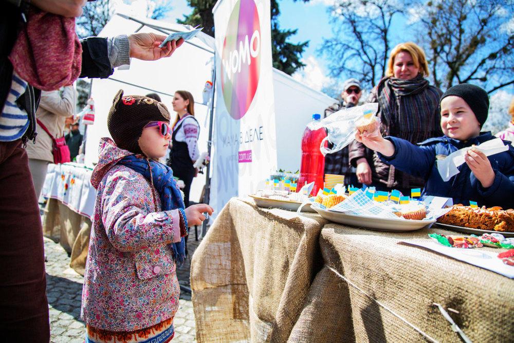 """Фотоотчет: НеДЕТСКИЕ ТОРГИ и WoMo-зона на фестивале """"В поисках Made in Ukraine"""""""