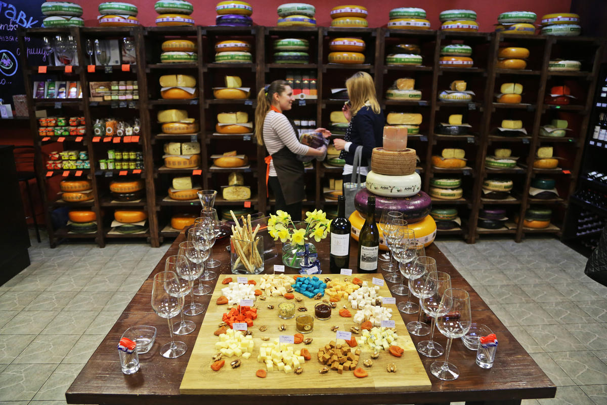 Как составить сырную тарелку для дегустации
