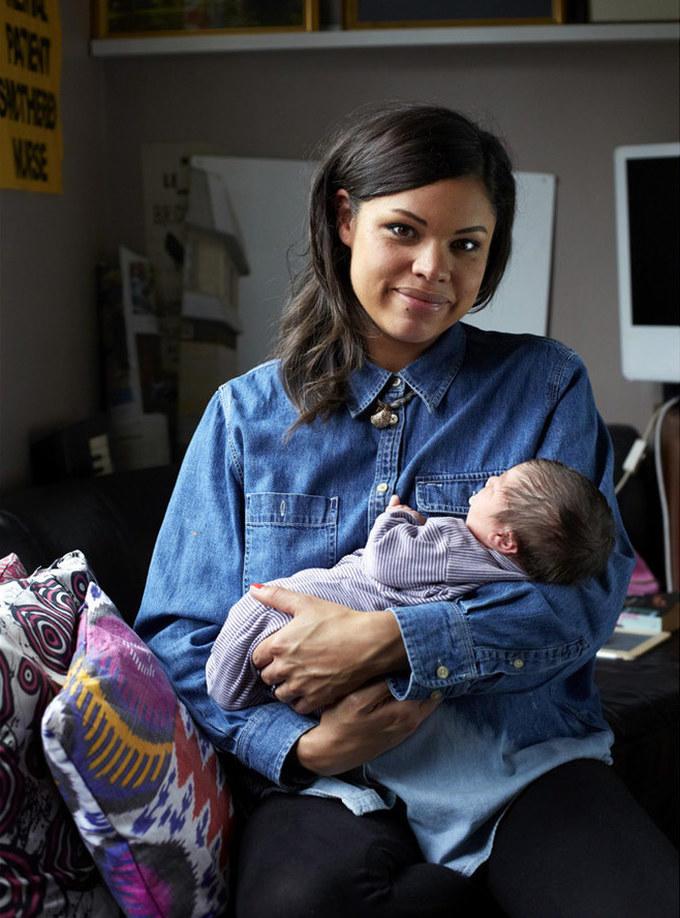Фотопроект: Первый день материнства