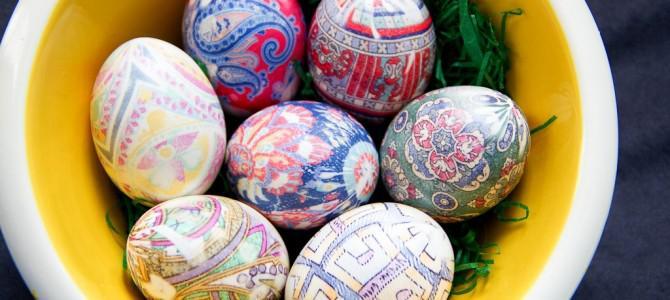 Видеорецепт: Креативные пасхальные яйца