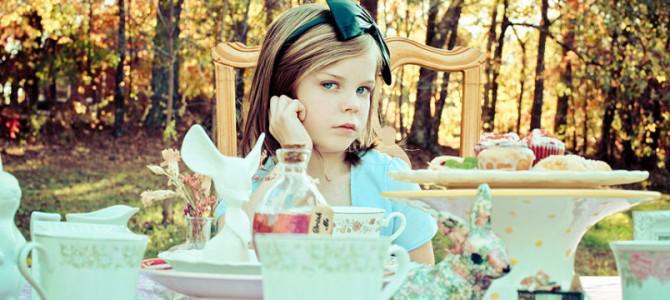Фотопроект: Алиса в стране чудес