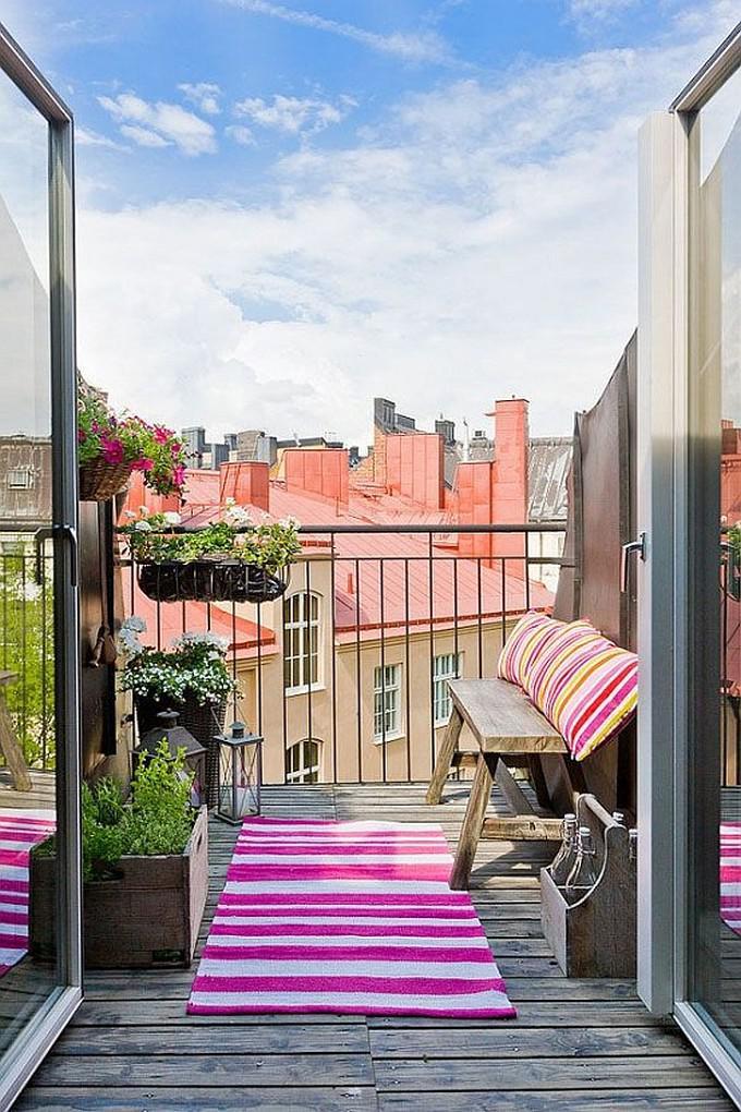 30 идей для уютного балкона