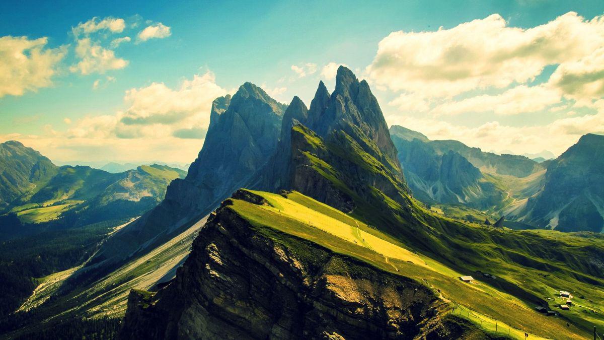 Коуч-сказка: На вершине горы