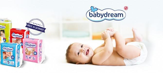 WoMo-находка: Babydream – новинка в сегменте детских подгузников