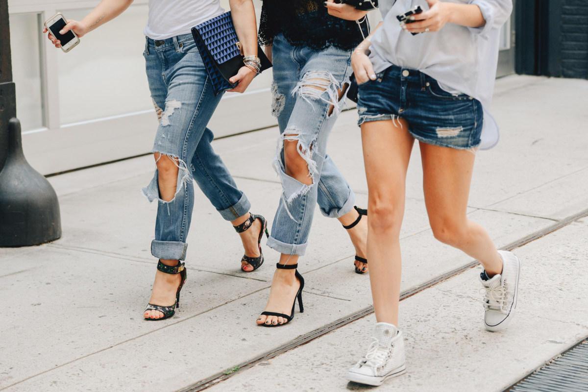 100 лет из истории джинсов