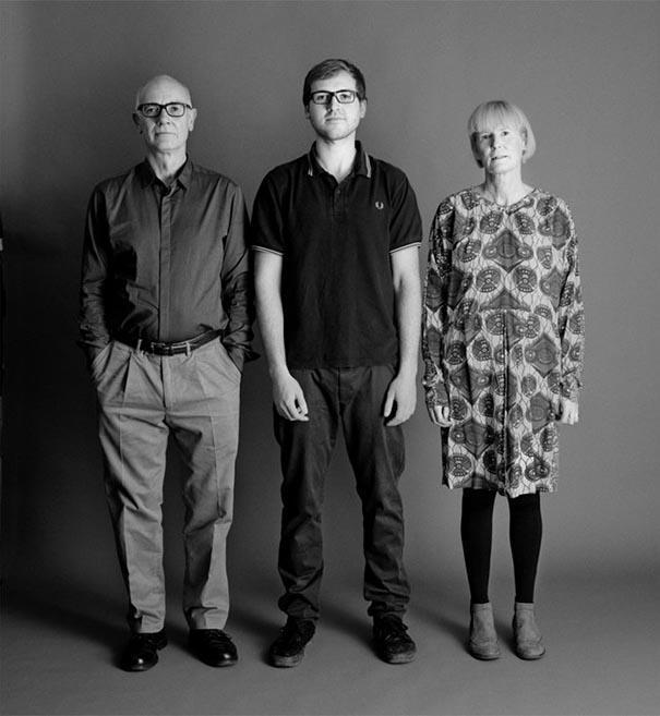 Фотопроект: Семейный портрет длиною в 25 лет